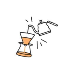 pictogramme café filtre